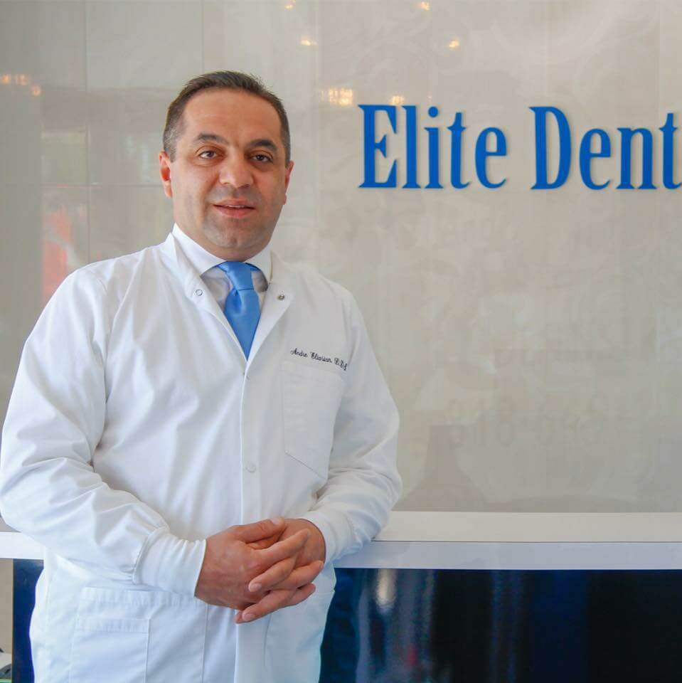 About Dr. Andre Eliasian