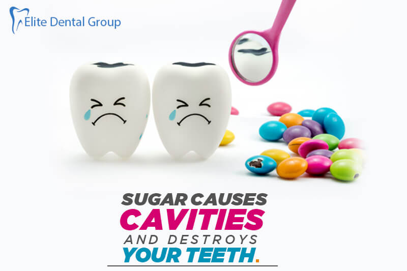 Sugar Causes Cavities and Destroys Your Teeth?