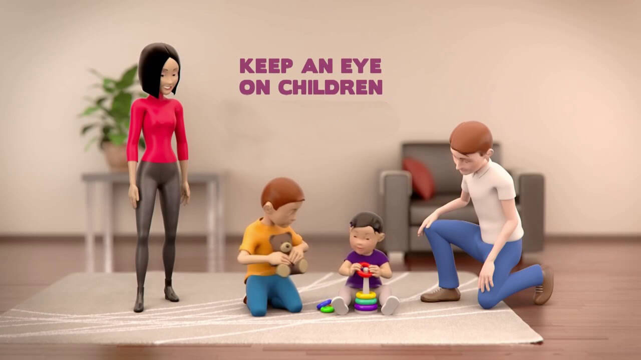 Keeping Eye On Children