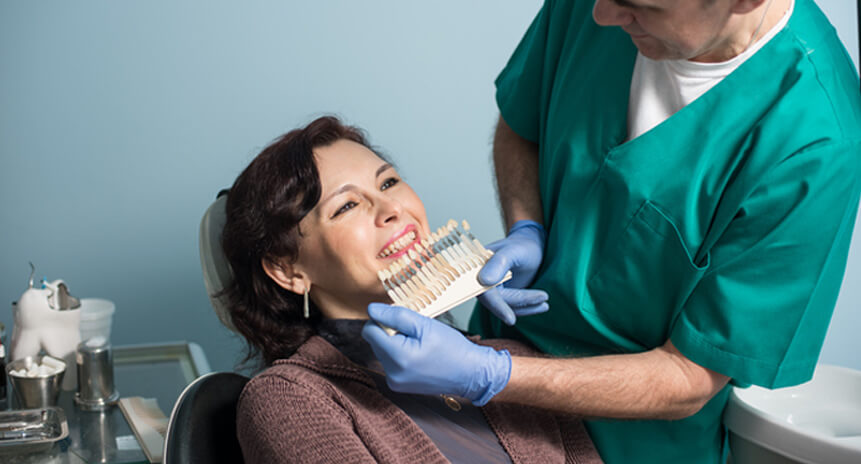 Procedures Associated With Cosmetic Dentistry